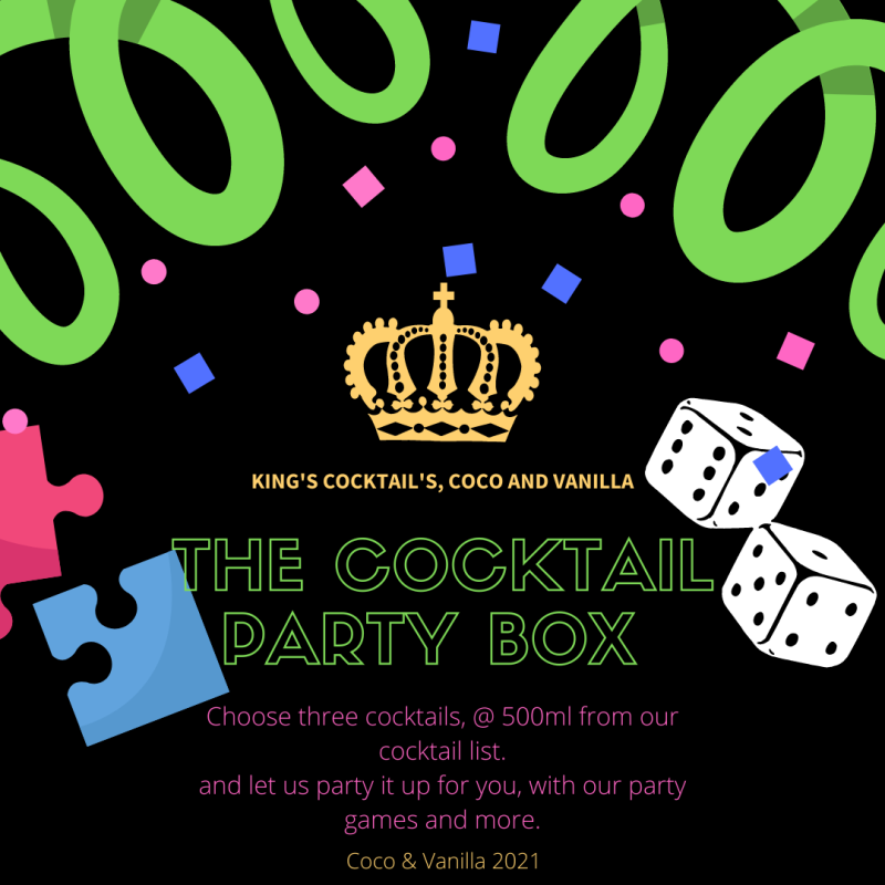 Seasonal Cocktail Party box - preorder from 30th May