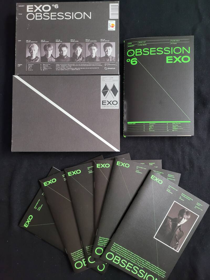 EXO- Album (Obsession / EXO version) [2e hands]
