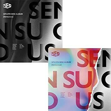 SF9 (에스에프나인) - 5e mini album (Sensuous)
