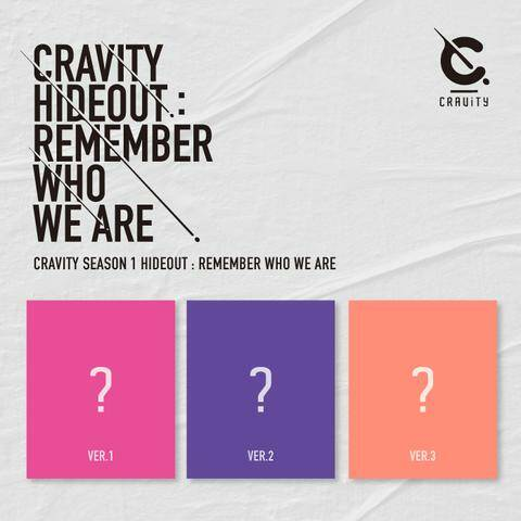 Cravity (크래비티)- Season 1 (Hide out: Remember who we are)