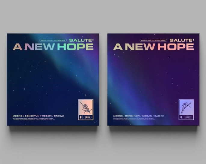 AB6IX (에이비식스)- 3e mini album repackage (Salute- A new hope)