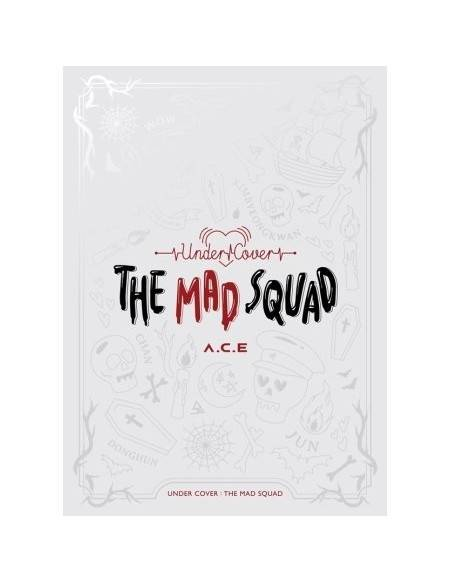 A.C.E. (에이스) - 3e mini album (Under cover: The mad squad)