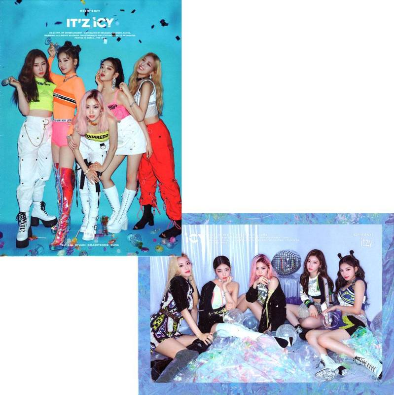 Itzy (있지) - 1ste mini album ( IT'z ICY)