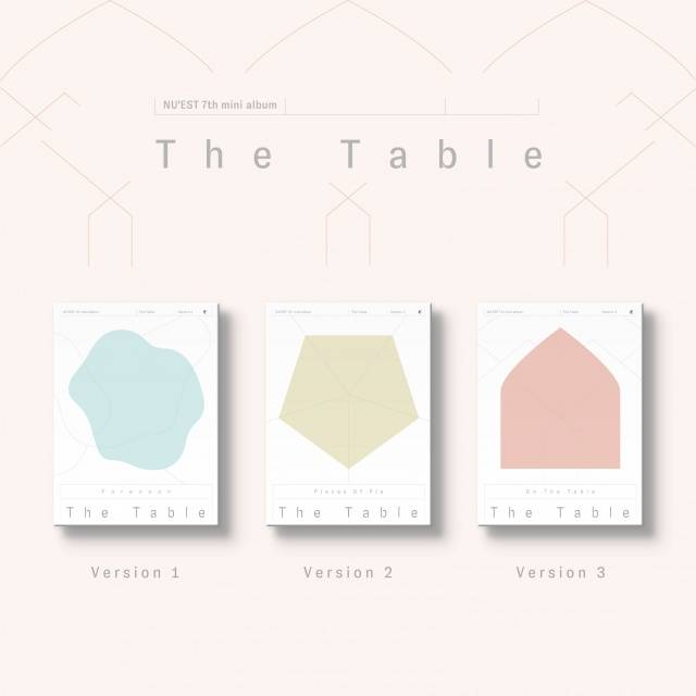 Nu'est (뉴이스트) -7e mini album (The Table)