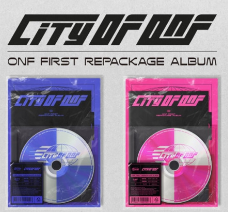 ONF (온앤오프)- 1ste Repackage album (City of ONF)