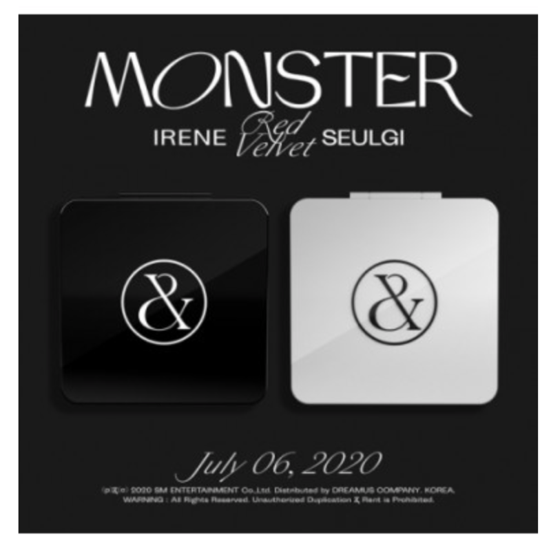 Red Velvet: Seulgi and Irene (레드벨벳-아이린&슬기)- 1ste mini album (Monster)