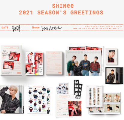 Shinee- Season's Greetings 2021