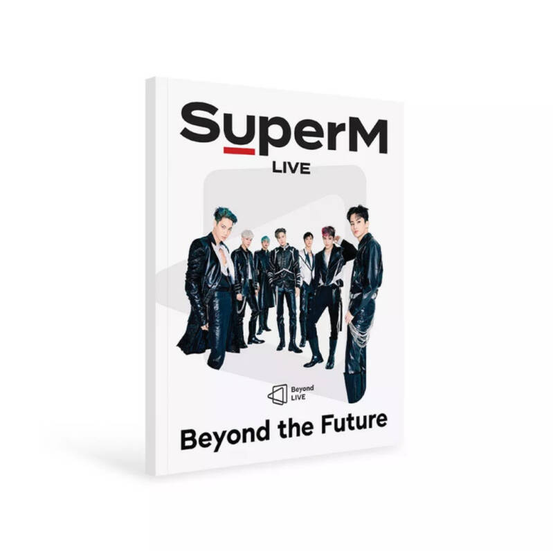 SuperM- Beyond Live Brochure (Beyond the Future)
