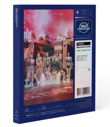 Twice- Beyond Live (Twice: World in a day Photobook)