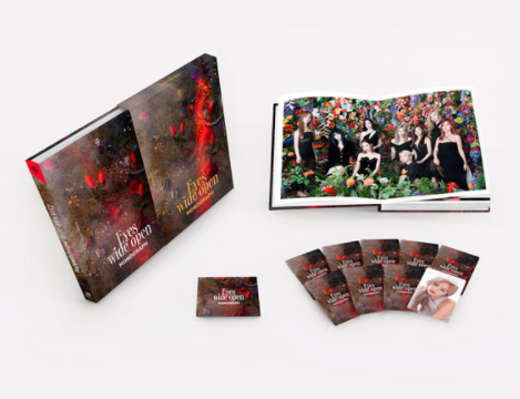 Twice- Eyes wide open monograph (Limited edition)