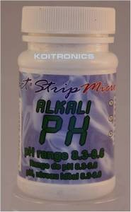 PH alkali test  PH  alkalisch