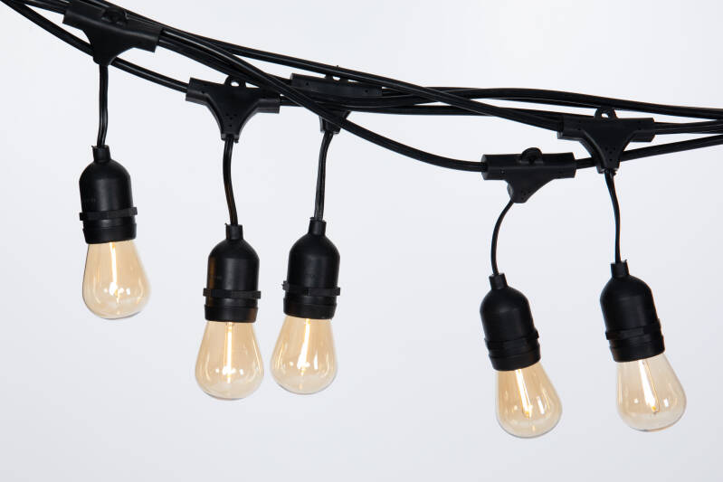 Ledli -  8M Retro prikkabel incl. LED lampen