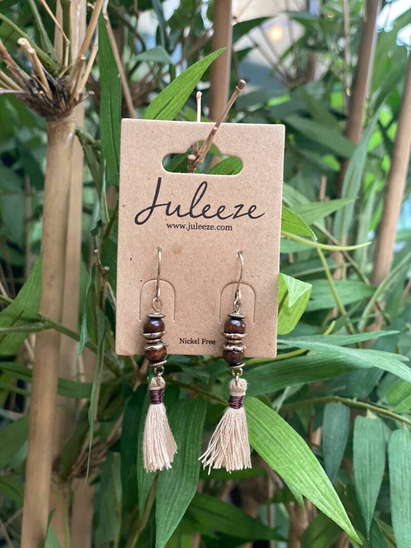 Juleeze Earings Wood