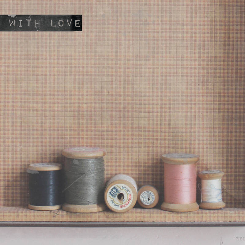 "With Love Postcard ""Sewing Coils """