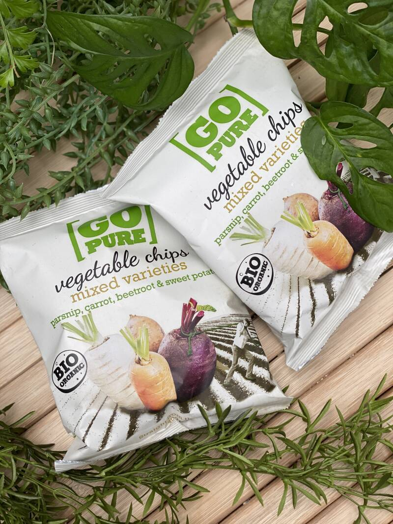 Go Pure vegetable chips