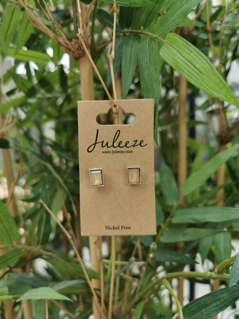 Earrings Rectangle Juleeze