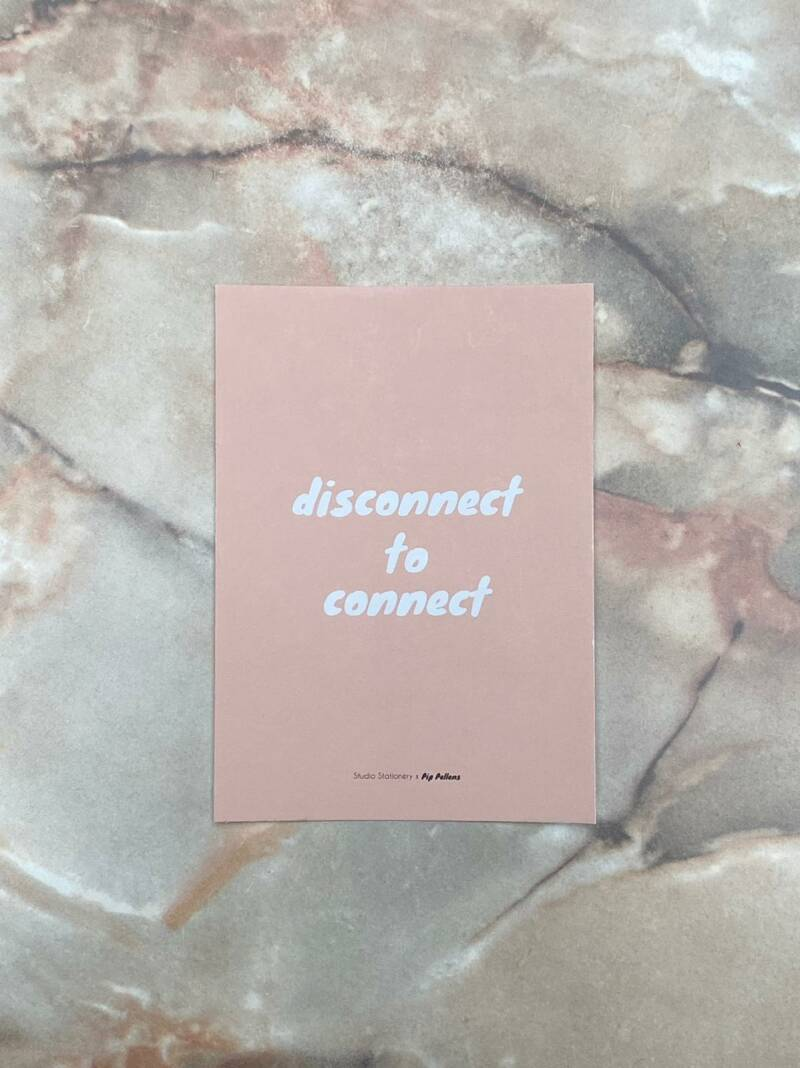 Kaart Disconnect To Connect