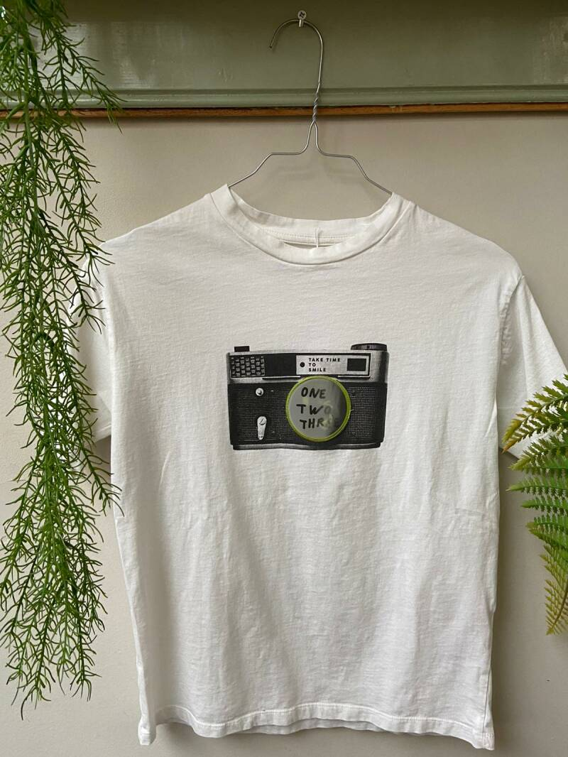 Camera Shirt Boys Maat 128