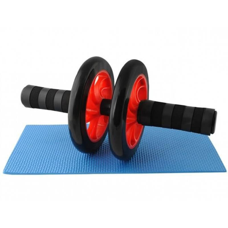 Ab Trainers Roller met Mat ABS Abdominal Trainer