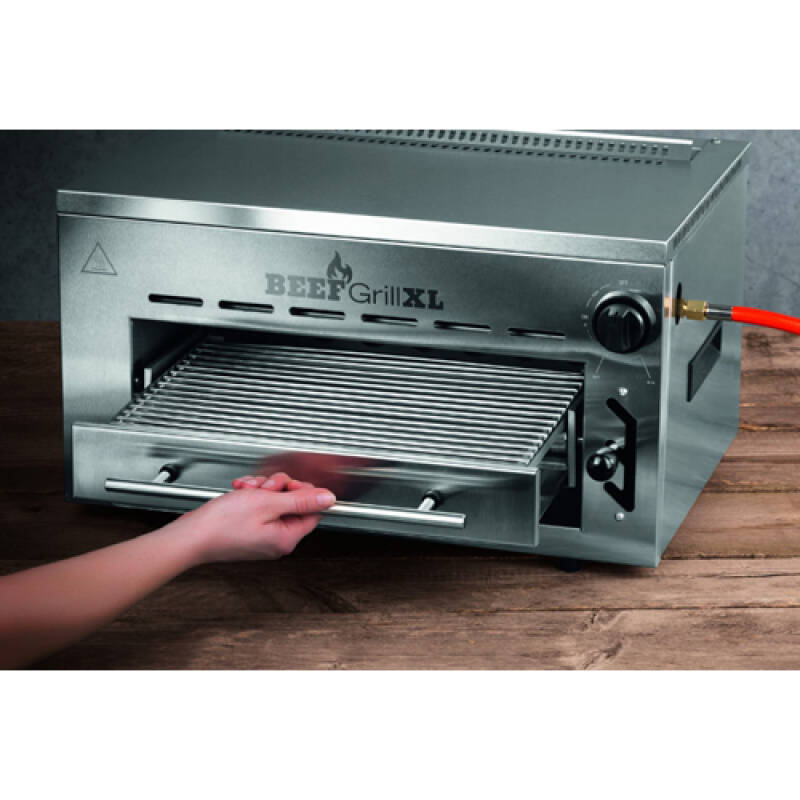 Top heat gas grill XL - GOURMET maxx