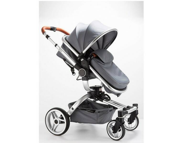 Blij'r Stef 2in1 luxe stationwagon buggy