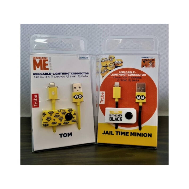 Kabel Iphone Tribe Minions 120cm