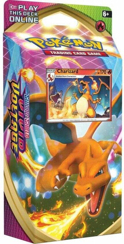 Pokémon - Themadeck Speelkaarten: Charizard of Drednaw