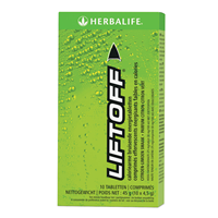 3152 Lift Off® bruisende energiedrank citroen 10 tabletten