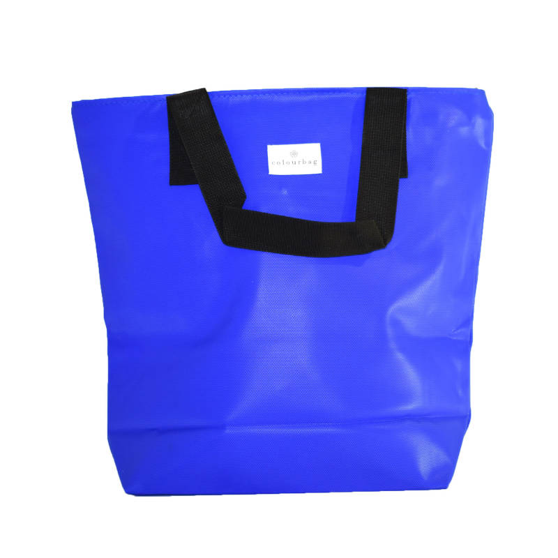 Deep Blue - ZIPPER TOTEBAG