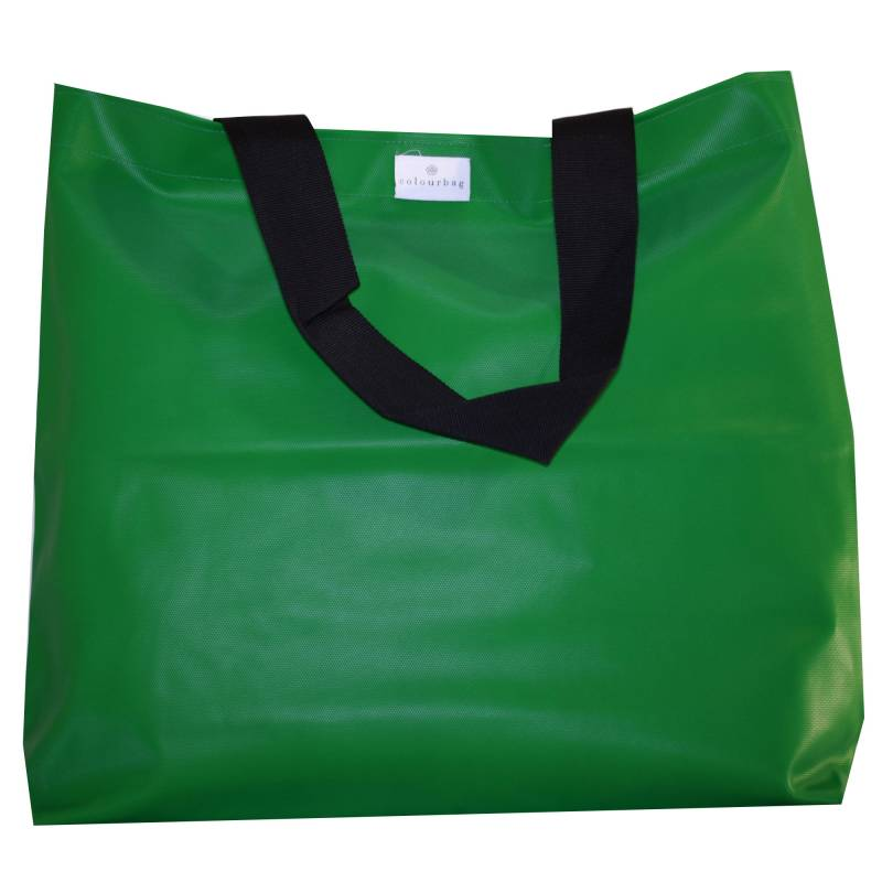 Gorgeous Green - TOTEBAG XL