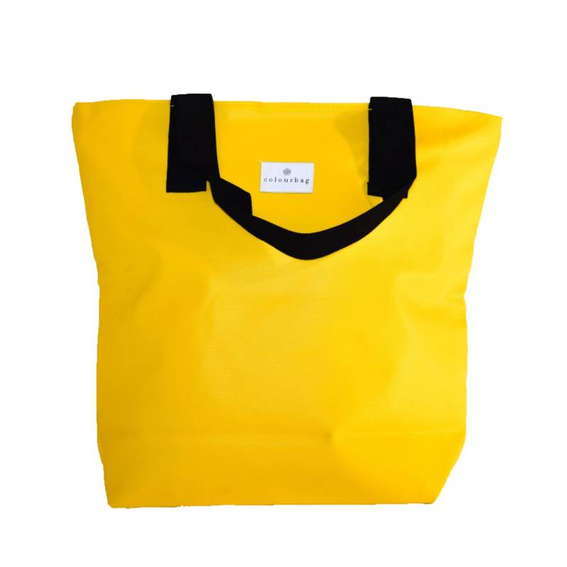 Royal Yellow - ZIPPER TOTEBAG