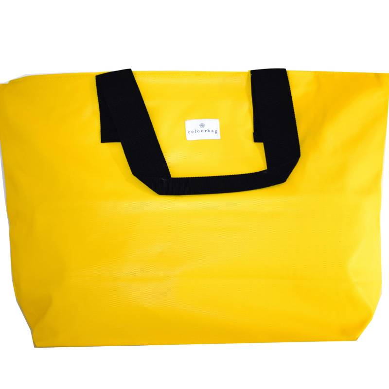 Royal Yellow - ZIPPER TOTEBAG XL