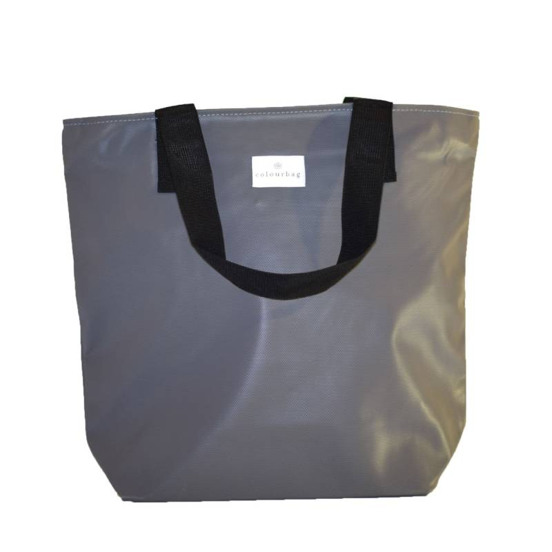 Radiant Gray - ZIPPER TOTEBAG