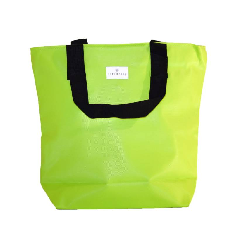 Apple Green - ZIPPER TOTEBAG