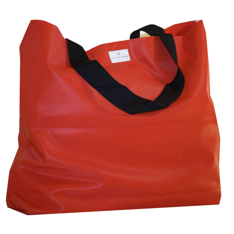 Fiery Red - TOTEBAG XL