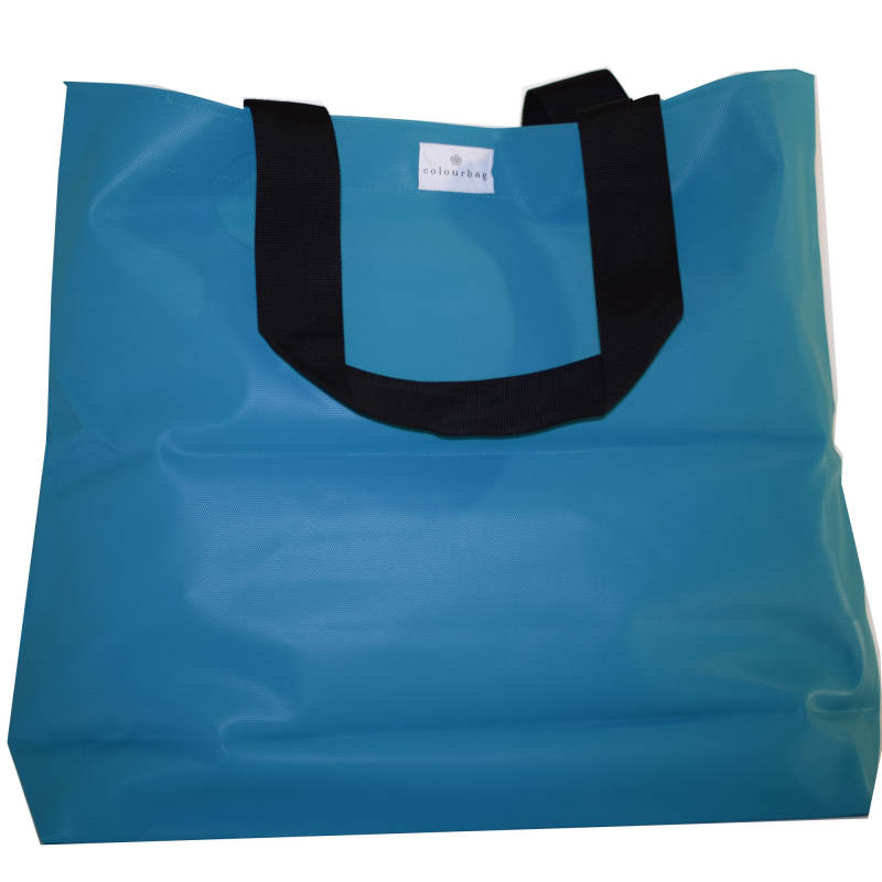 Bright Turquoise - TOTEBAG XL