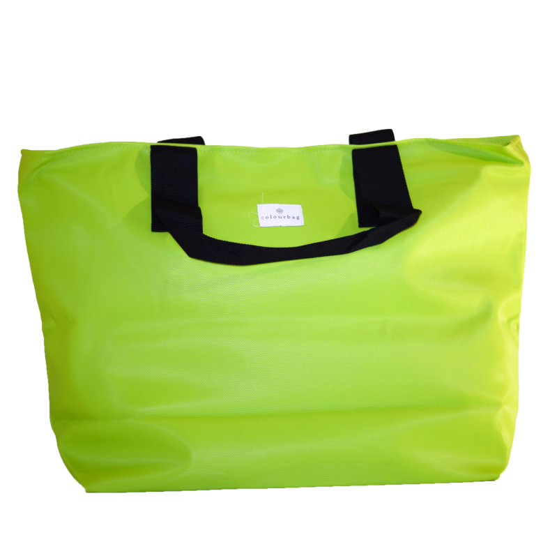 Apple Green - ZIPPER TOTEBAG XL