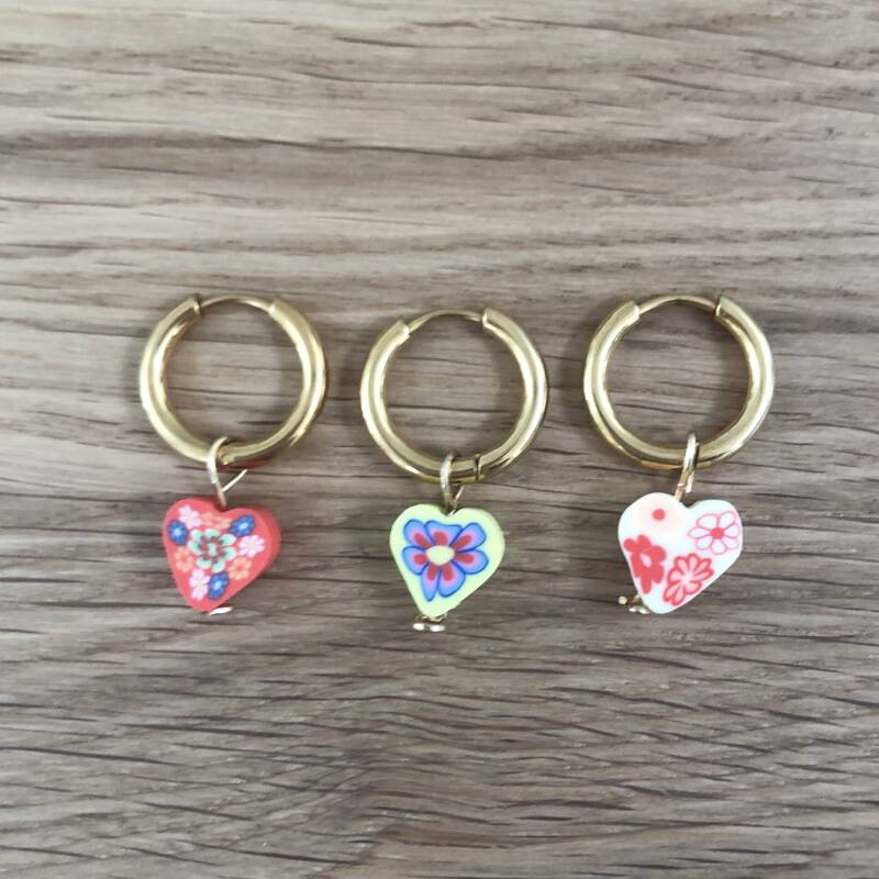 Piece of my heart hoops (one piece) G