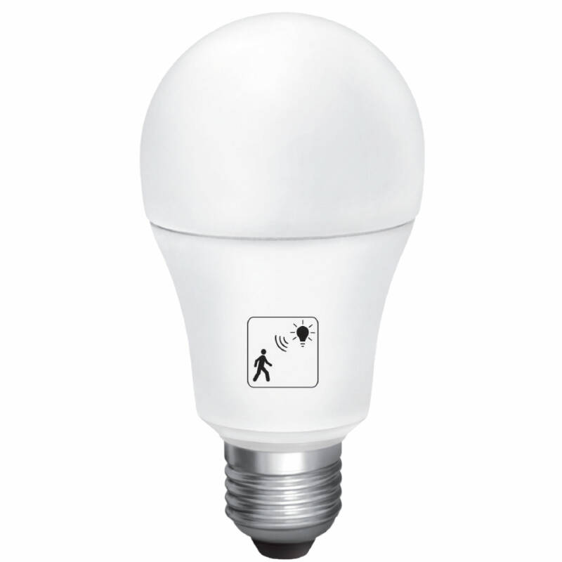 10W LED smart bulb met beweging dag/nacht