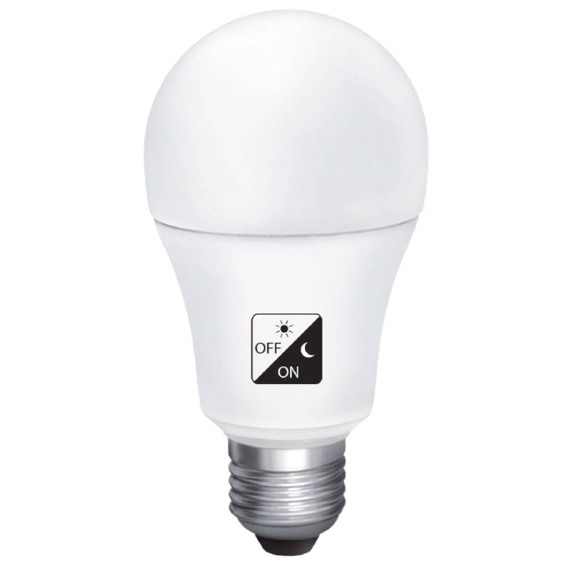 10W LED Smart bulb - met schemersensor / dag/nacht