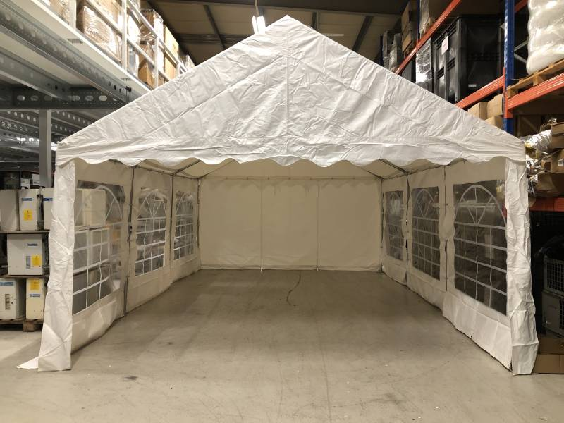 Partytent 6x4 - wit