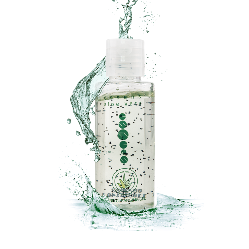 Aloe Vera Cleansing Gel with antibacterial additive 50ml