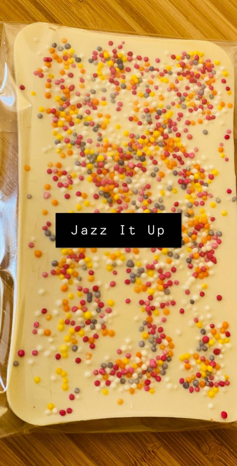 Chocolate Slab Jazz It Up