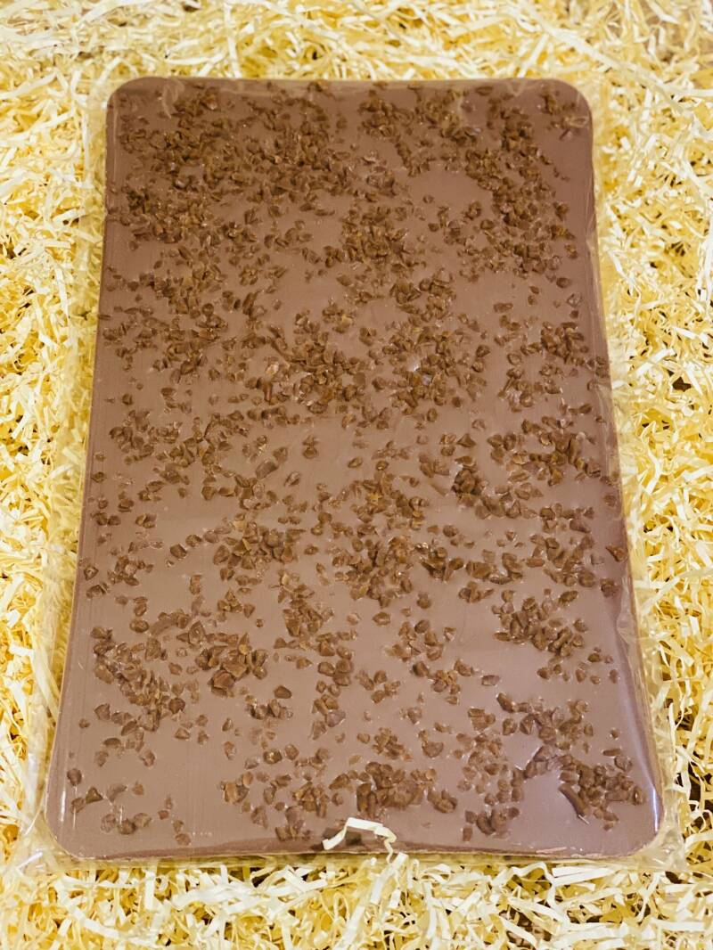 Chocolate Slab Salted Caramel