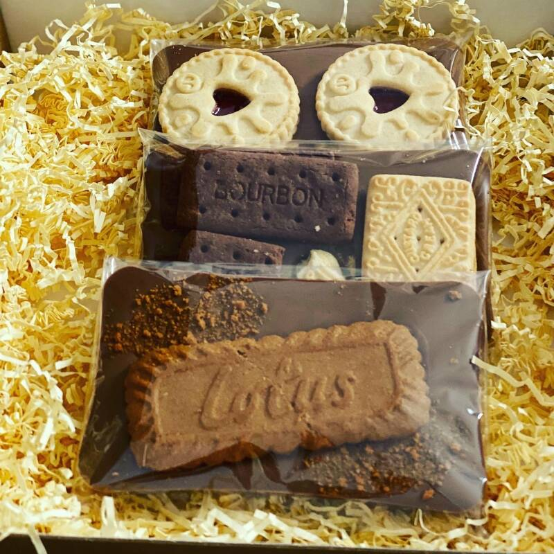 Gift Idea The Biscuit Lovers Chocolate Gift Box