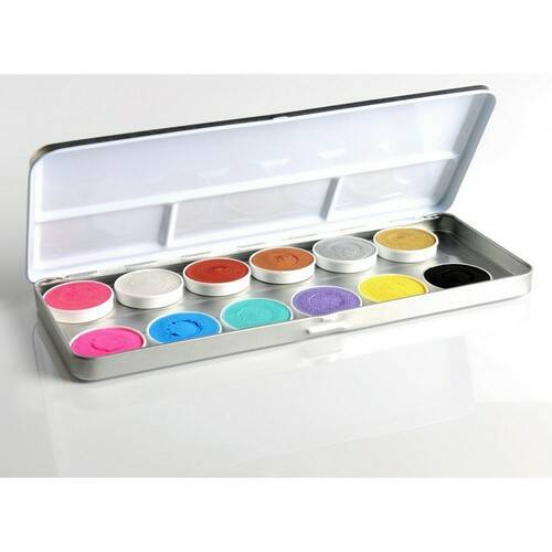 P63.6 12 Colours Duo Shimmer- And Pastel