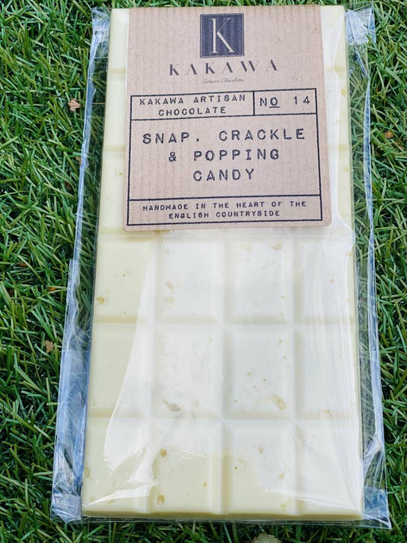 Signature Bar No 14 Snap, Crackle & Popping Candy 100gr