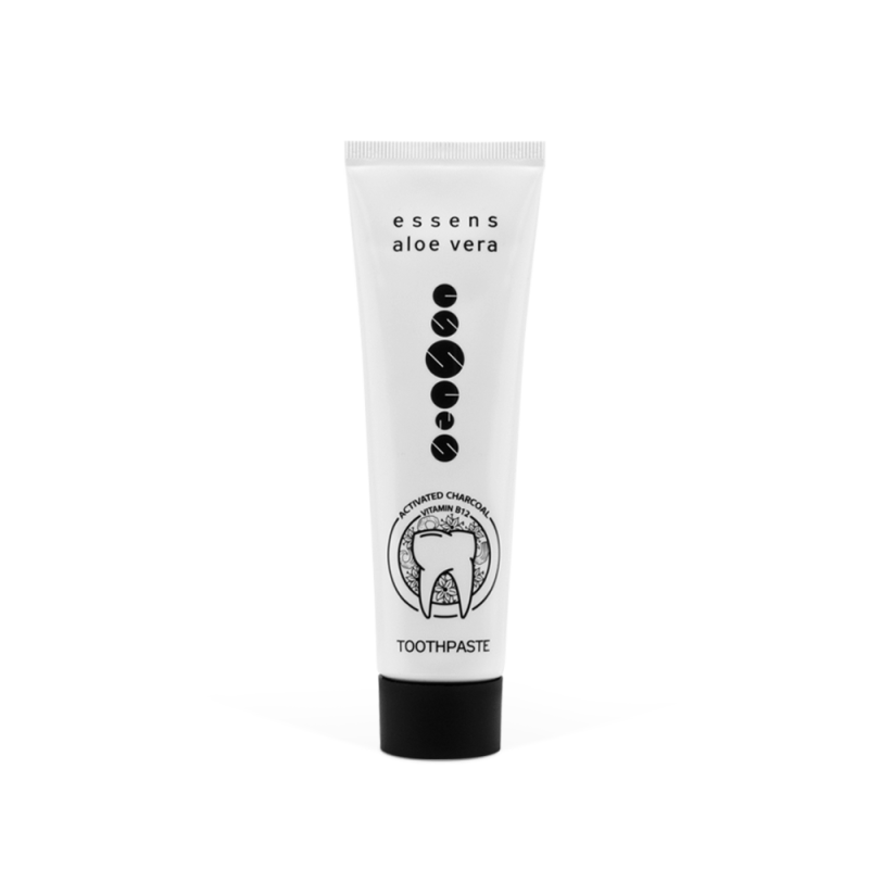 Aloe Vera Toothpaste with activated Charcoal and Vitamin B12 100ml