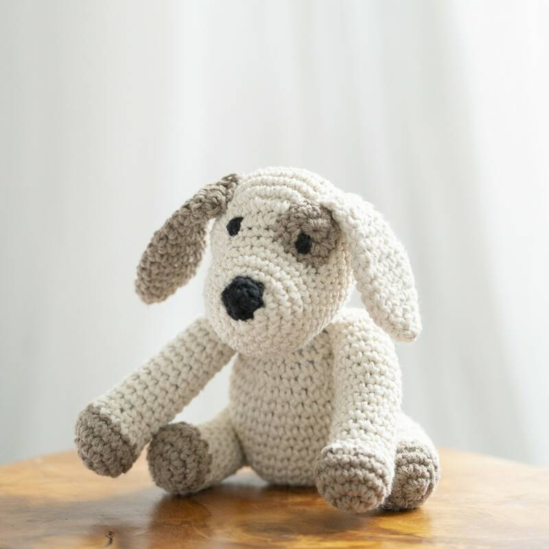 DIY CROCHET KIT PUPPY MILLIE ECO BARBANTE52597
