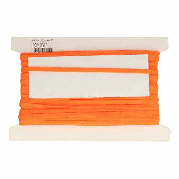 veterband 9mm  per meter 2+1 GRATIS neon orange 2138(4)